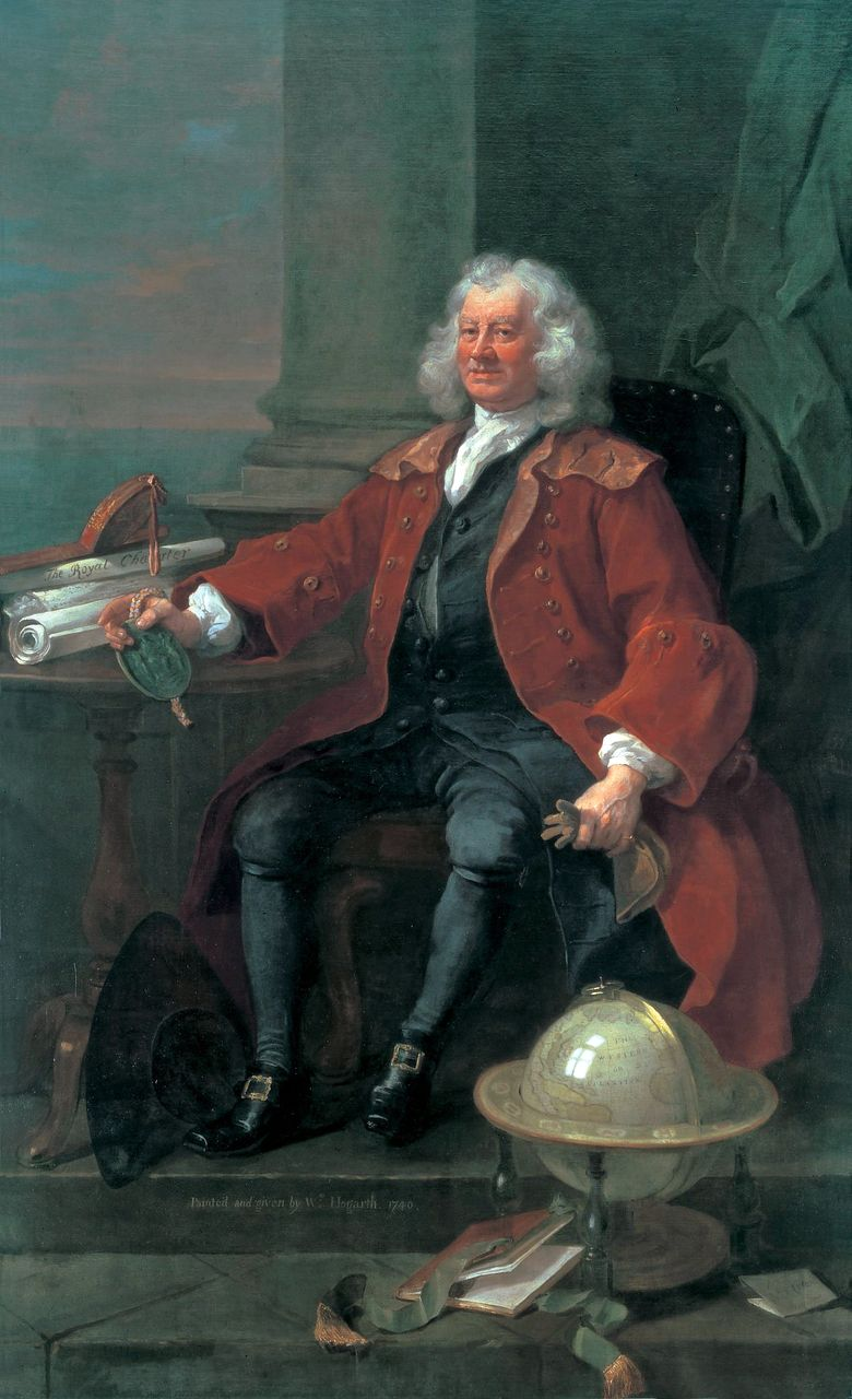 T. Korema kapitány   William Hogarth arcképe
