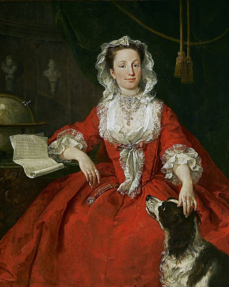 Mary Edwards portréja   William Hogarth