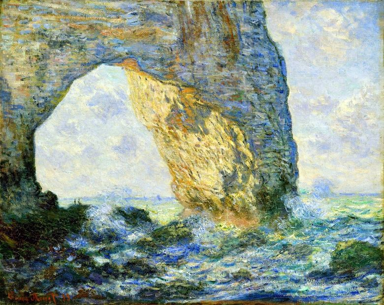 Mannport   Claude Monet